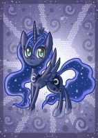 Lovely Luna pony by raptor007