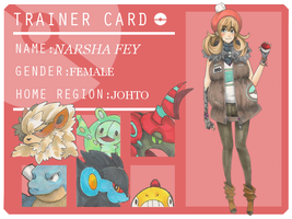 Pokemon Trainer: Narsha Fey by chipperring