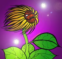 Plants vs Zombies REBOOT: Sunflower by jalachan