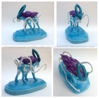 Suicune Sculpture by unistar2000