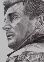 Liam Neeson by AdiLABS