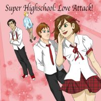 Love Attack Dating Sim by MonocleBunny