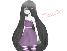 Adventure Time,Marceline :3 by chiihaya