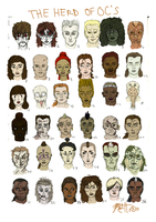 Characters by JusticeLeagueofAngel