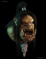 Grommash Hellscream (World of Warcraft character) by Ficolo