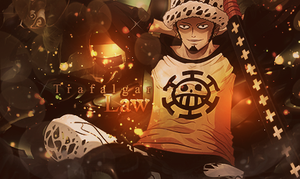Trafalgar Law ~ by FrutiOrient