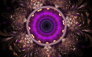 creative violet pattern by Andrea1981G