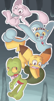 Pokemon Mystery Dungeon Team by TheSparkledash