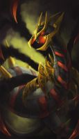 Giratina-O by kittiara