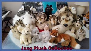 Jaag Plush Collection by Vesperwolfy87