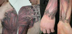 Tattoo Muskle Skin by 2Face-Tattoo