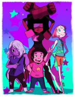 we are the crystal gems by RickyAlexander