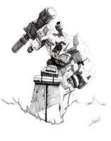 'Best of Megatron' IDW pencils by LivioRamondelli