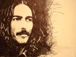 George Harrison by christhib