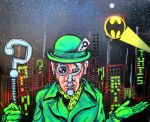 The Riddler by Rayjmaraca