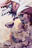 Tyrantrum by Domestic-Monster