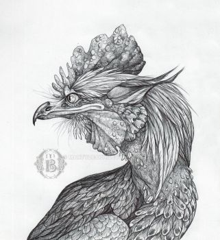 Chick Chick, Cockerel by MartyDeath