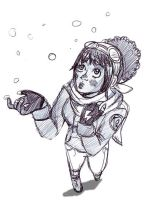 Miss Stone in the Snow by superlucky13
