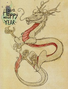 Happy New Year 2012 by Ayaki-usagi