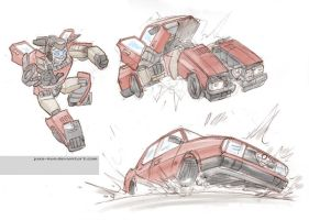 Transform and roll out... by juzo-kun