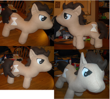 Dr. Whooves MLP Plush by ShopOfMinerva