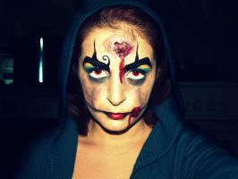 Zombie Clown... by Tania20a