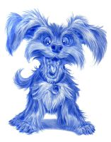 Yorkshire Terrier by SuperStinkWarrior