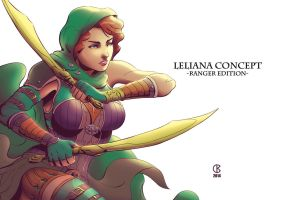Leliana - Concept 3 by shrouded-artist
