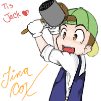Jack from Harvest Moon by sprkl309