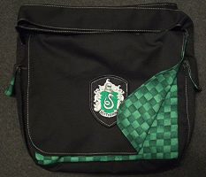 Slytherin Bookbag 2 by Groovygirlsuzy17