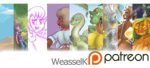 My PATREON by weasselK