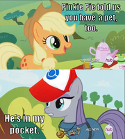 Maud Pie Caught Them All by Geno-Dimentio