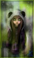Panda girl by Absur-D