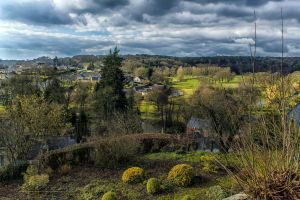 Vue de Chailland Mayenne France by hubert61