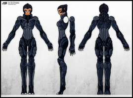 PANTHERA Orthographic Sheet by Mark-MrHiDE-Patten