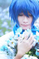 Kaito_world is blue by Dan-Gyokuei