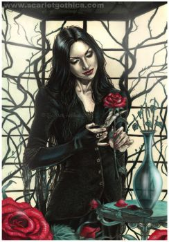 Morticia by Claudia-SG