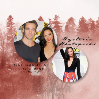 Photopack 578 // Gal Gadot and Chris Pine by HysteriaPhotopacks