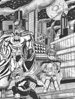 Gotham City's Heroes by C4L
