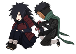 Chibi Tobi Madara by FireEagleSpirit