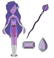 Purple Jade Concept Art by d3zydration