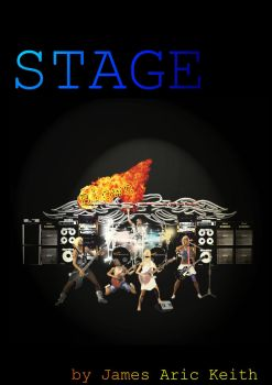 Stage - Book cover by keystone045