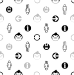 Penguindrum Wall Pattern 1 by CyberStrike