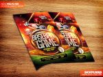 Baseball Flyer PSD by Industrykidz