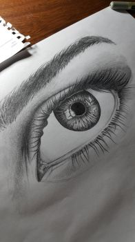 detailed eye by M3ran