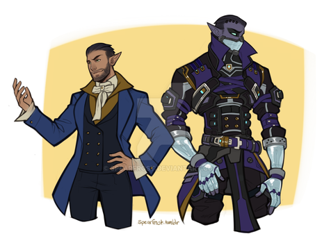 Wildstar - before and after by Spearfrost