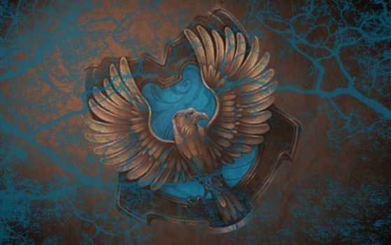 HP Wallpaper : Ravenclaw Lightning by TheLadyAvatar