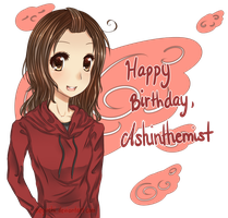 Happy Birthday, Ashinthemist! by Neyuchi