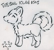 Tribal Klee kai by NiehHuskey