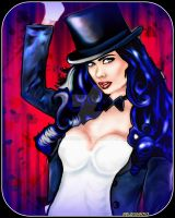 Zatanna Version 2 by lotus73